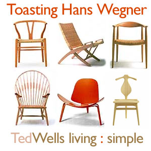 Toasting Hans Wegner: Chairs Worth Celebrating!