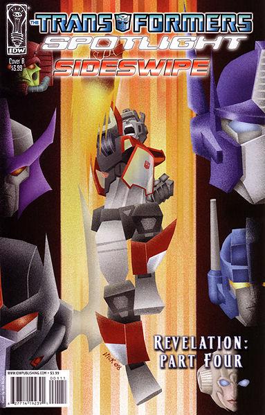 Iaconic Reviews Transformers Spotlight Sidswipe