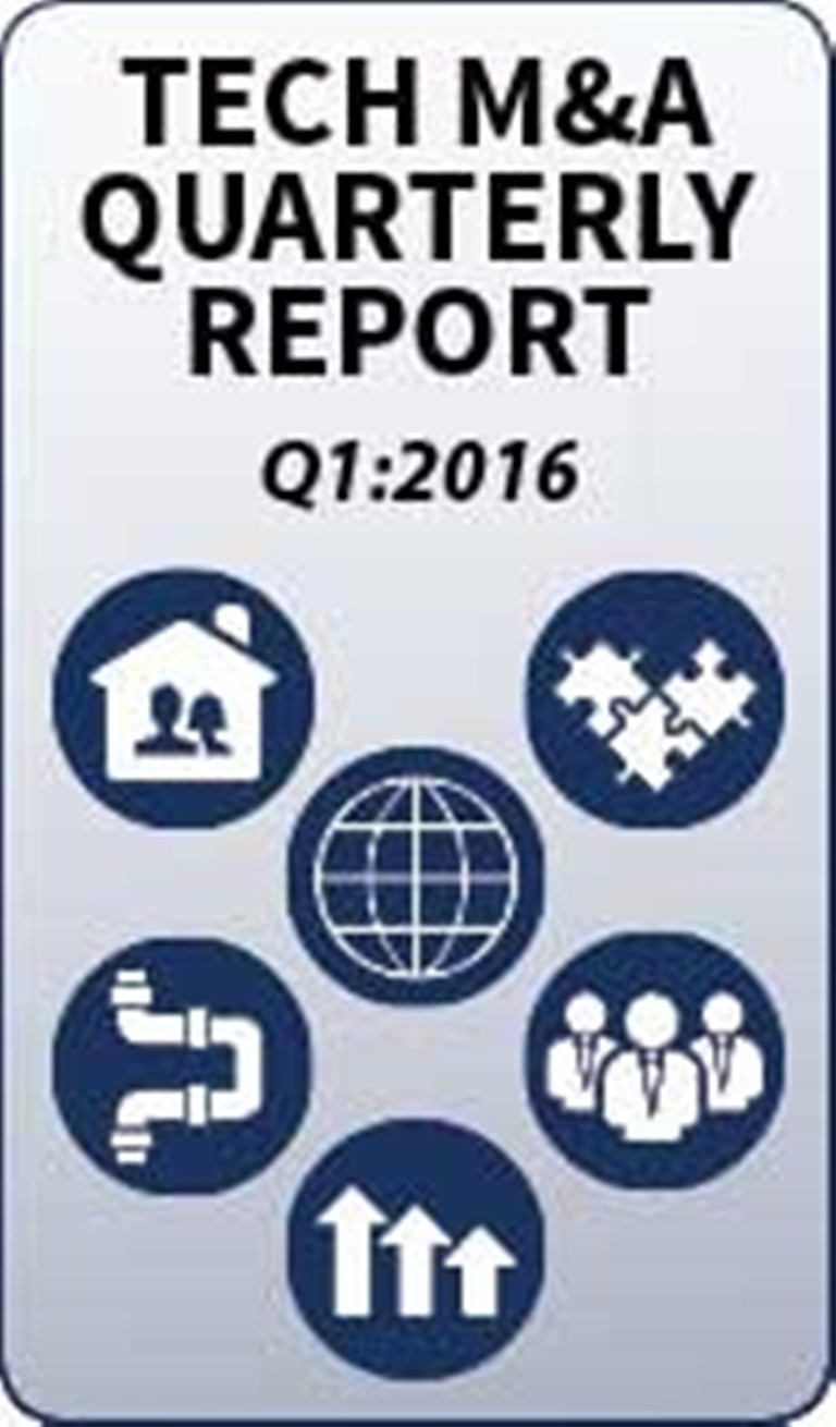 Tech M&A Monthly: Q1 2016 - Special Reports