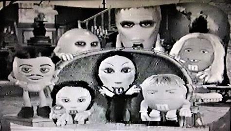 M&M's Addams Family