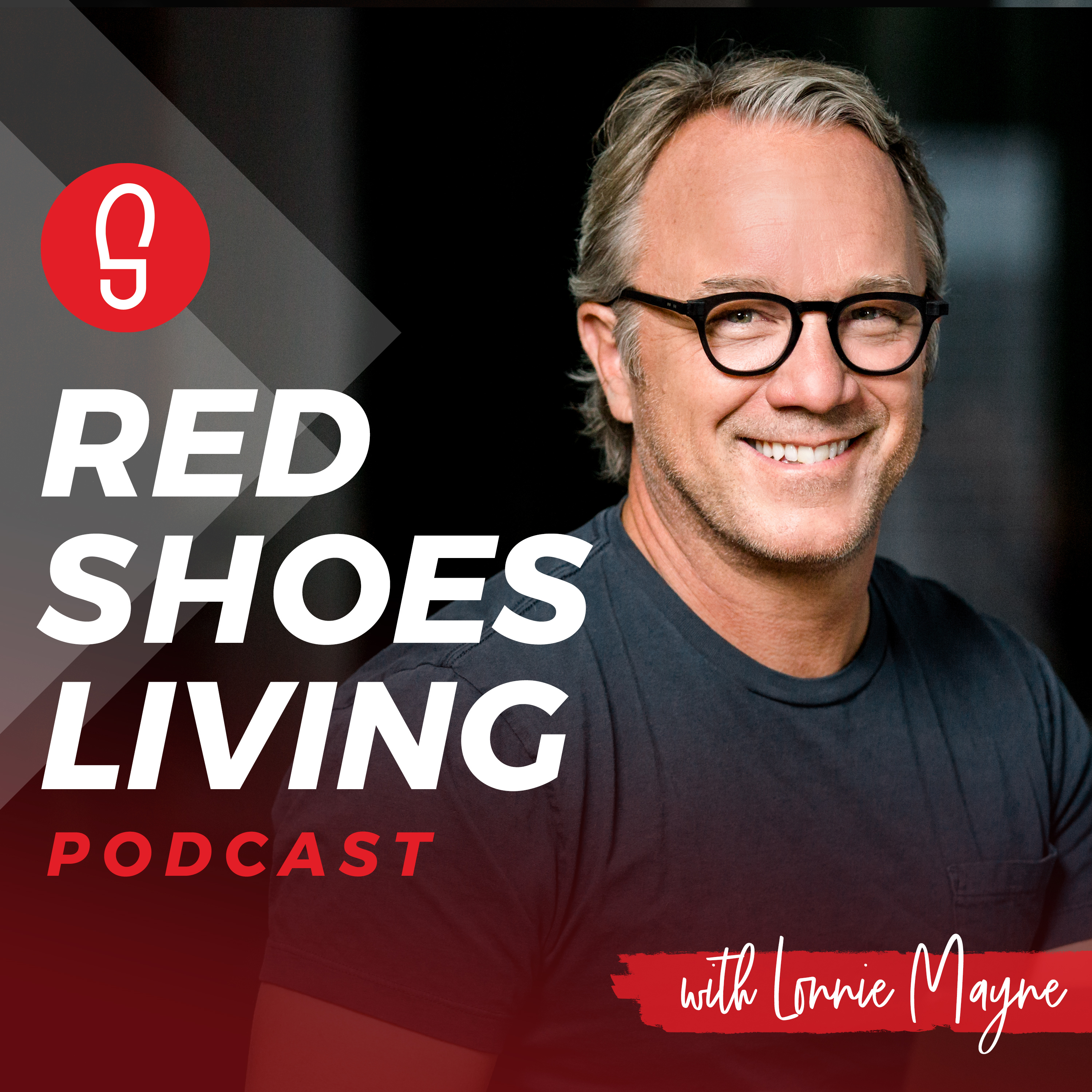 Red Shoes Living Podcast show art