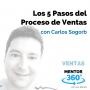 Artwork for Los 5 Pasos del Proceso de Ventas, con Carlos Sogorb - VENTAS - MENTOR360