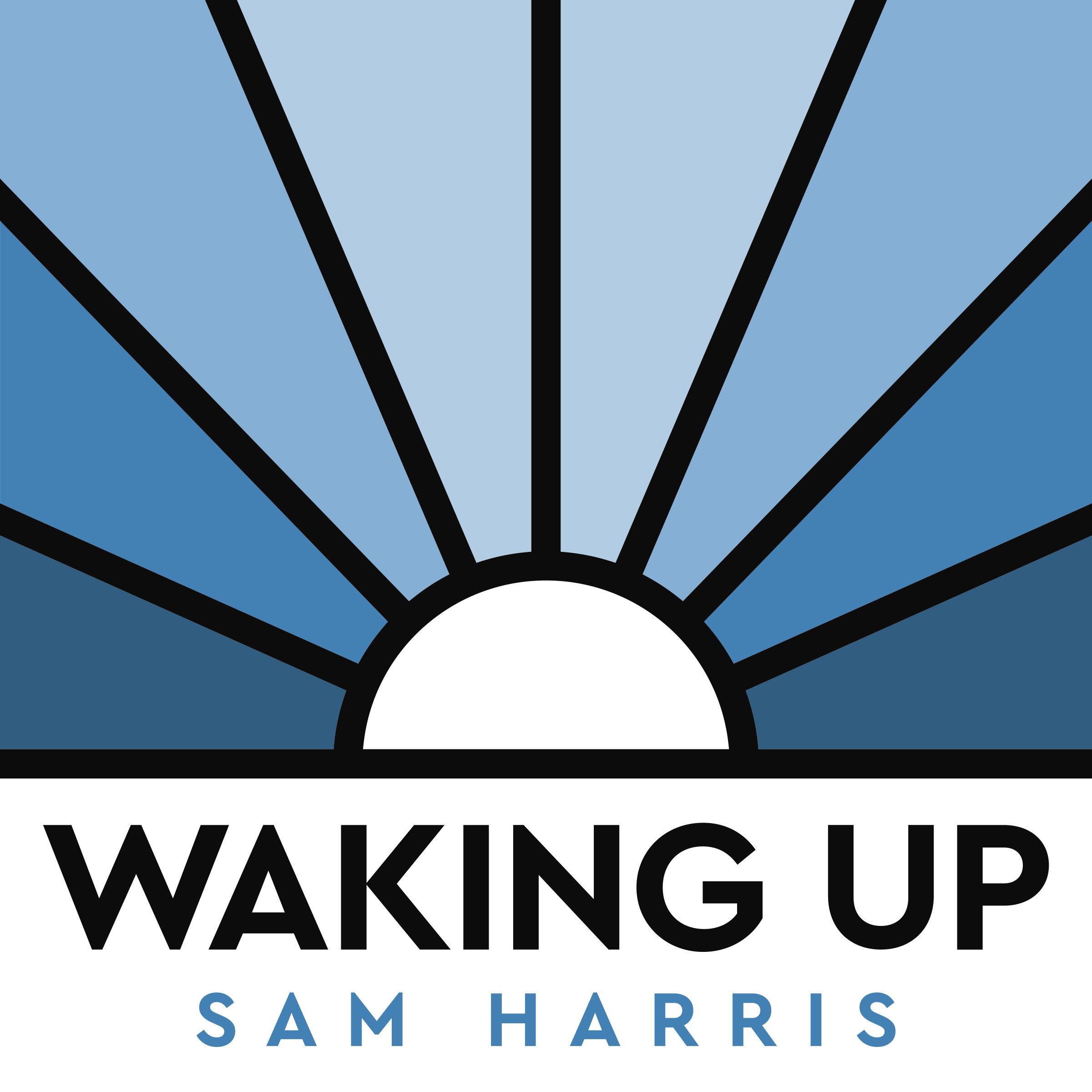 Waking Up with Sam Harris logo