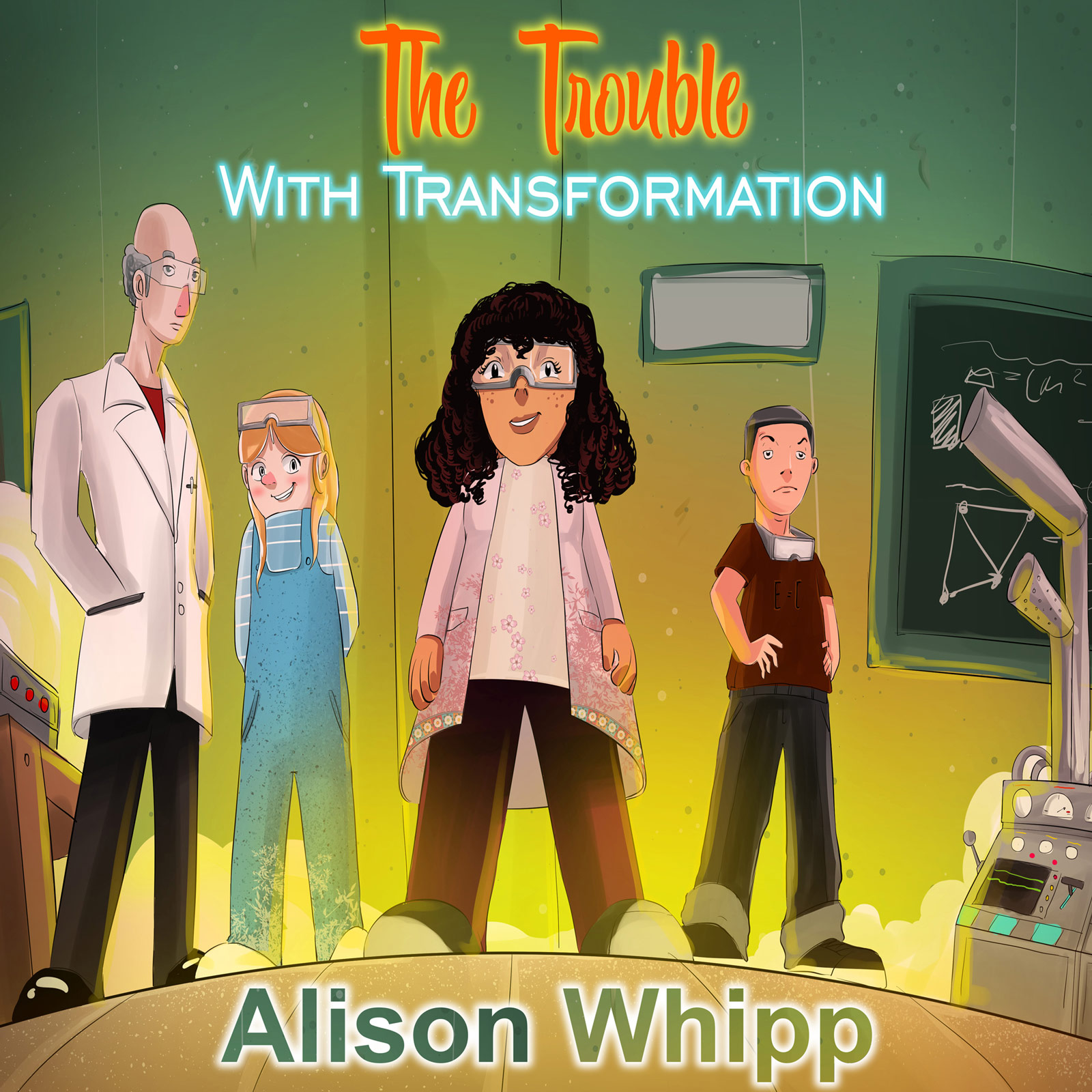 The Trouble with Transformation - A Serialised Novel show art