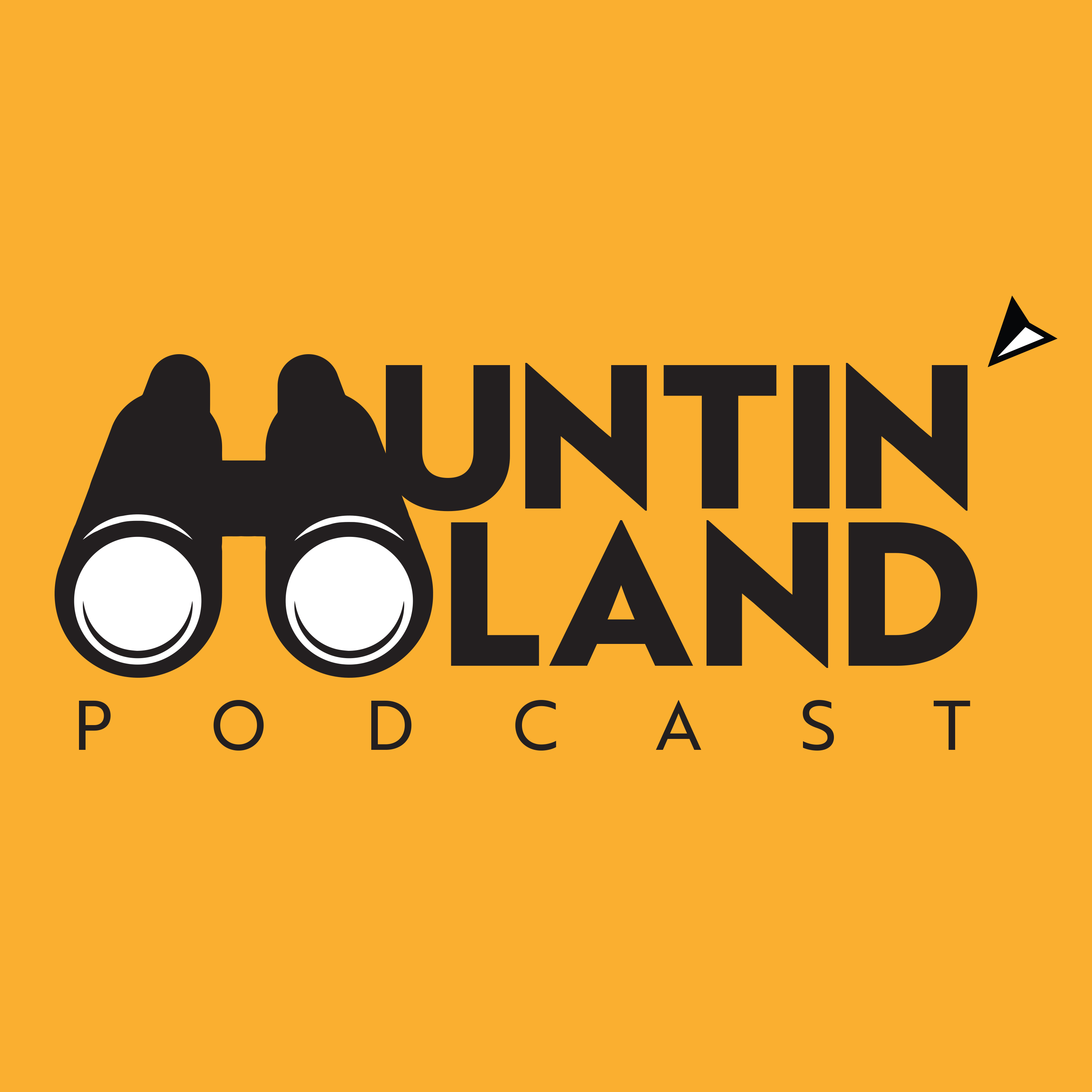 Huntin' Land Podcast show art