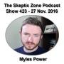 Artwork for The Skeptic Zone #423 - 27.November.2016