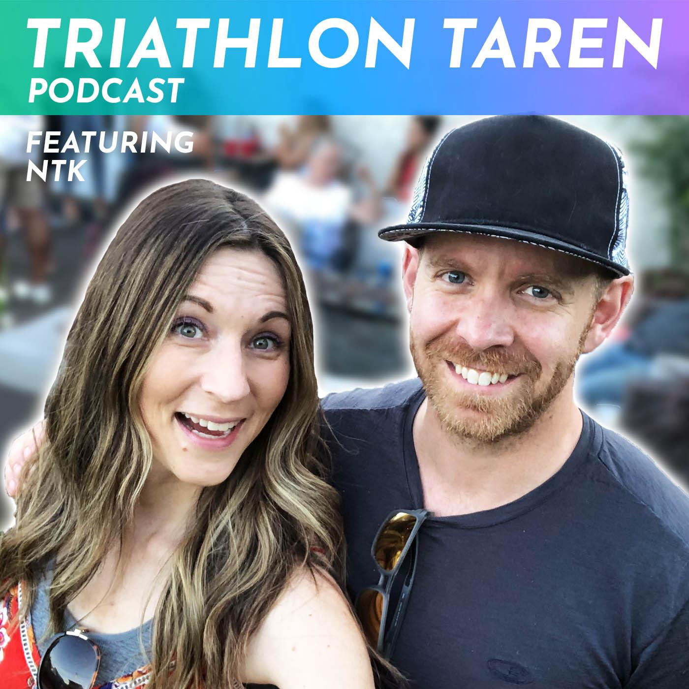 Triathlon Taren Podcast show art