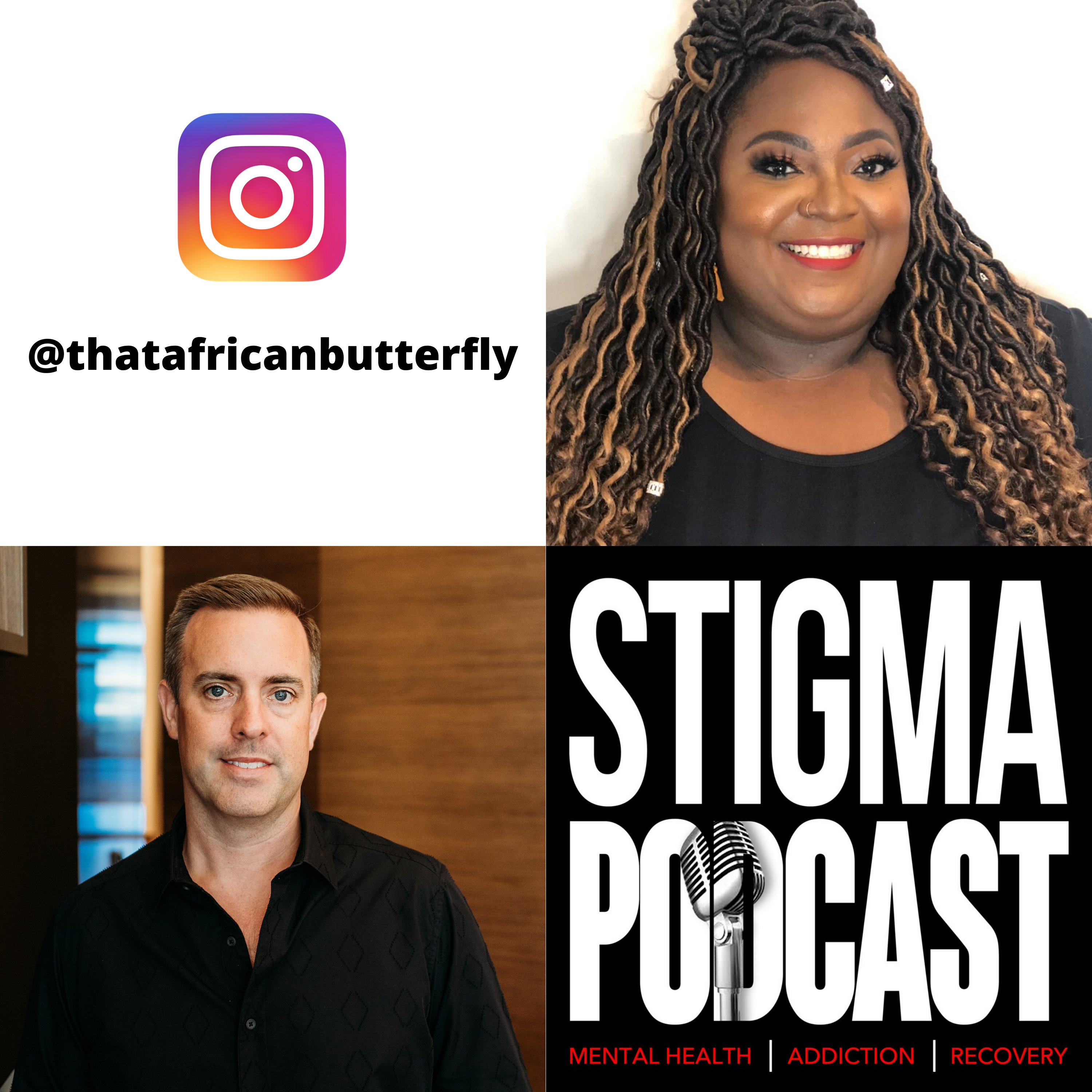 Stigma Podcast - Mental Health - #42 - It's Okay If You Need Meds to Be Okay - A Chat About Depression with Nyemade Boiwu