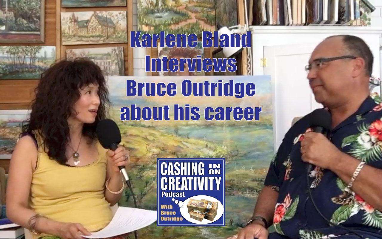 Karlene Bland interviews Bruce