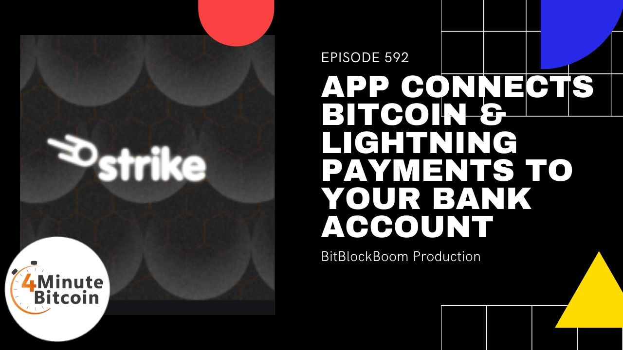 App Connects Bitcoin & Lightning Payments to Your Bank Account