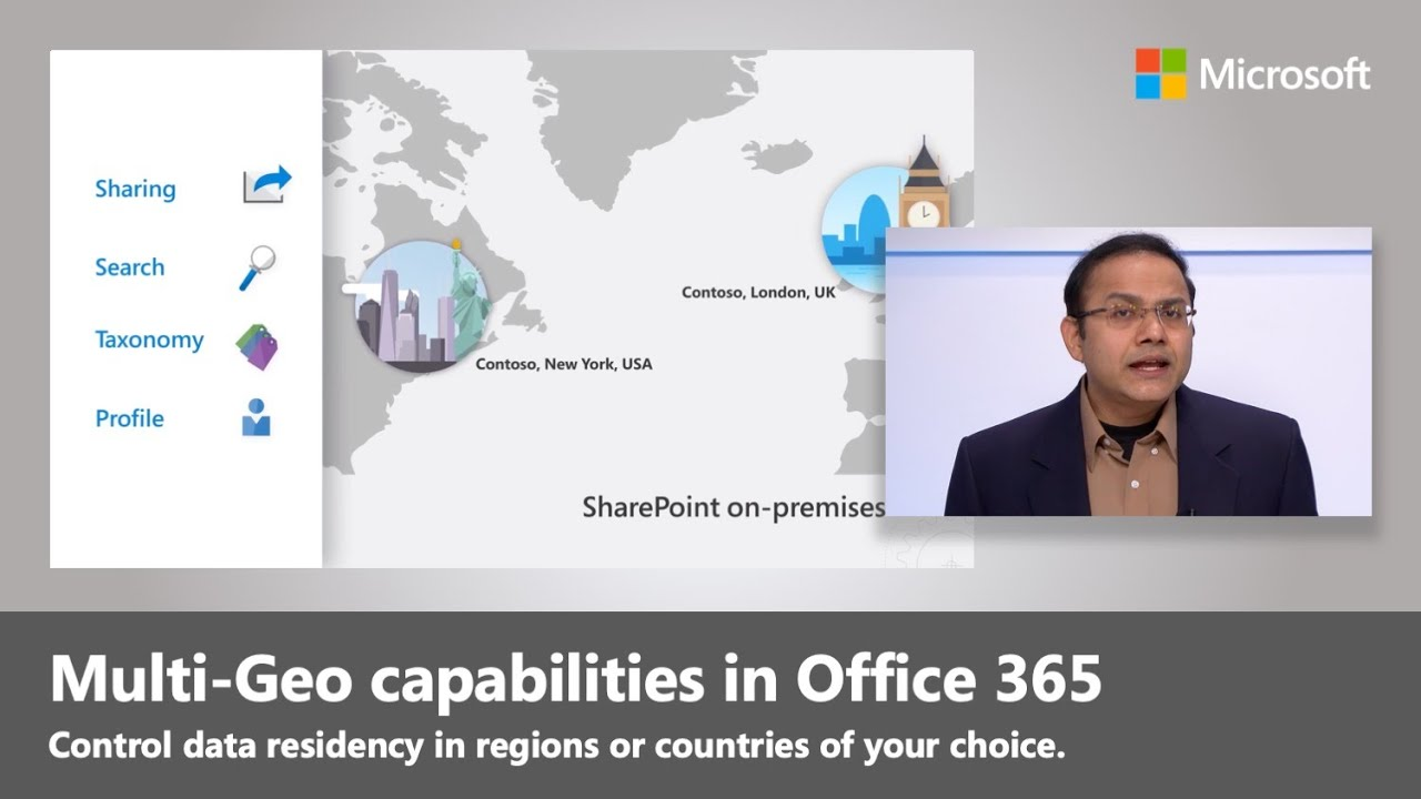 Artwork for SharePoint Online and OneDrive Multi-Geo to control where your data resides