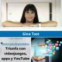 Artwork for Cómo triunfar con videojuegos, apps y en YouTube, con Gina Tost - MPE018 - Mentores para Emprendedores