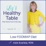 Artwork for 32: Low FODMAP Diet: Kate Scarlata, RDN