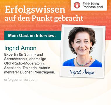 134 – Im Gespräch mit Ingrid Amon
