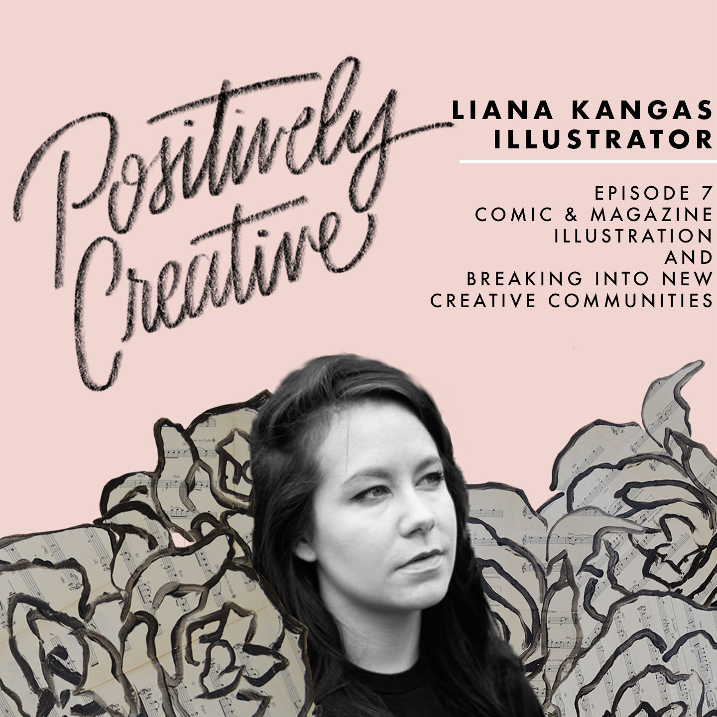Artwork for 007 - Liana Kangas on Comic & Magazine Illustration and Breaking Into New Creative Communities