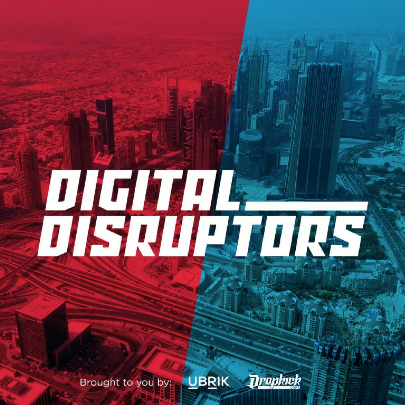 Artwork for Episode Zero - Welcome to the Digital Disruptors Podcast