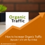 Artwork for How to Increase Organic Traffic