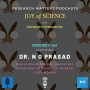 Artwork for Joy of Science: featuring Dr NG Prasad, IISER Mohali