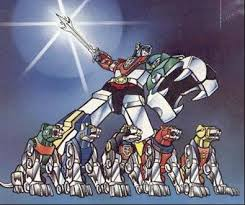 Back in Toons Classics-Voltron