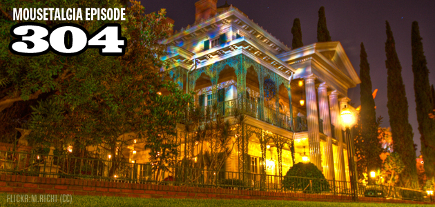 Mousetalgia Episode 304: The Haunted Mansion at ScareLA; Robin Williams