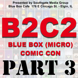 Pt 3 of B2C2 Interview with Alphie Jimenez - Live at the Blue Box 4-25-15