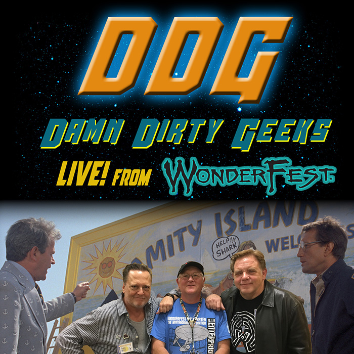 The Damn Dirty Geeks podcast live from WonderFest 2017