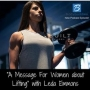 "Artwork for Episode #121: ""A Message For Women about Lifting"" with Leda Emmons"