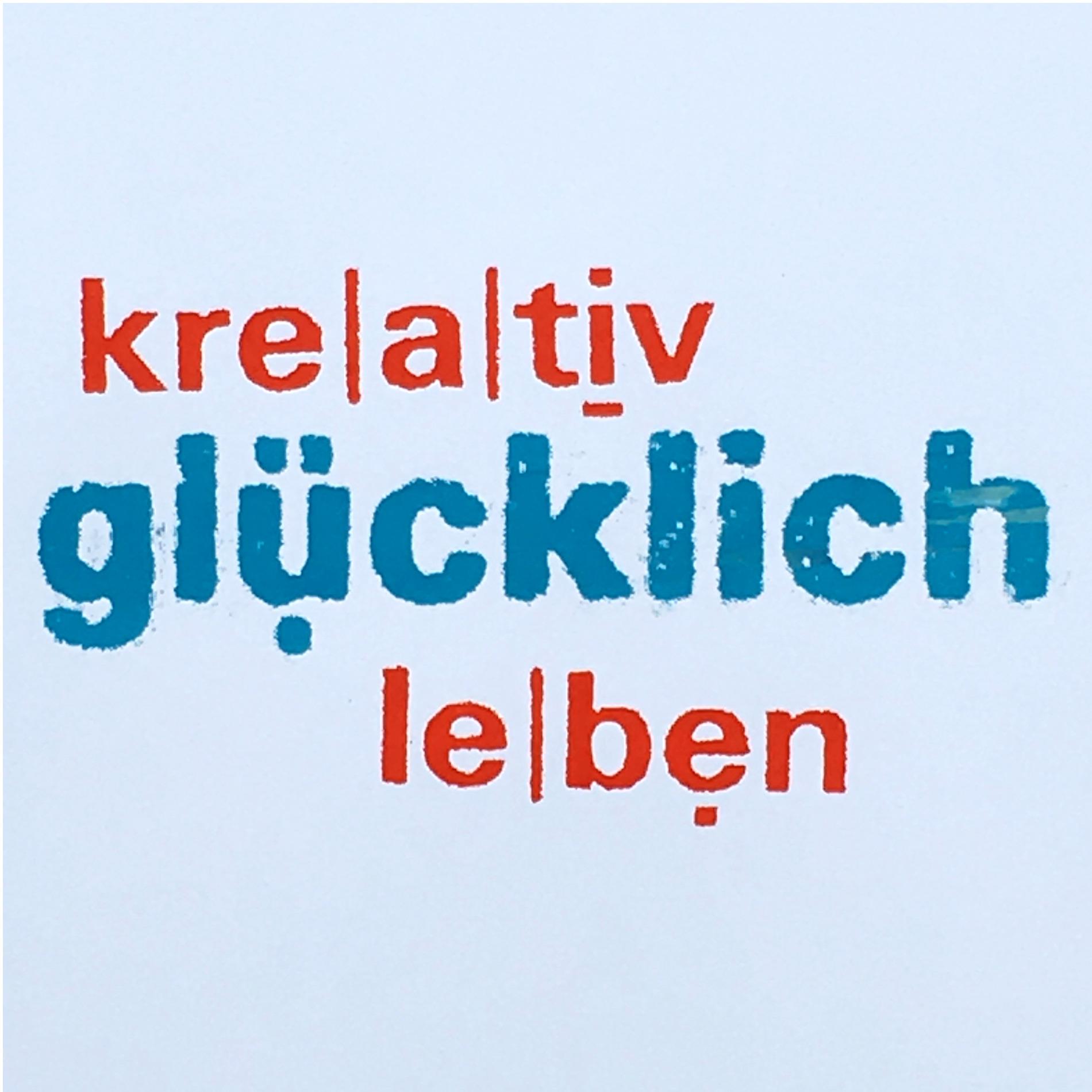 kreativ-glücklich-leben - DEIN Podcast für gute Energie mit Anja Streese. show art