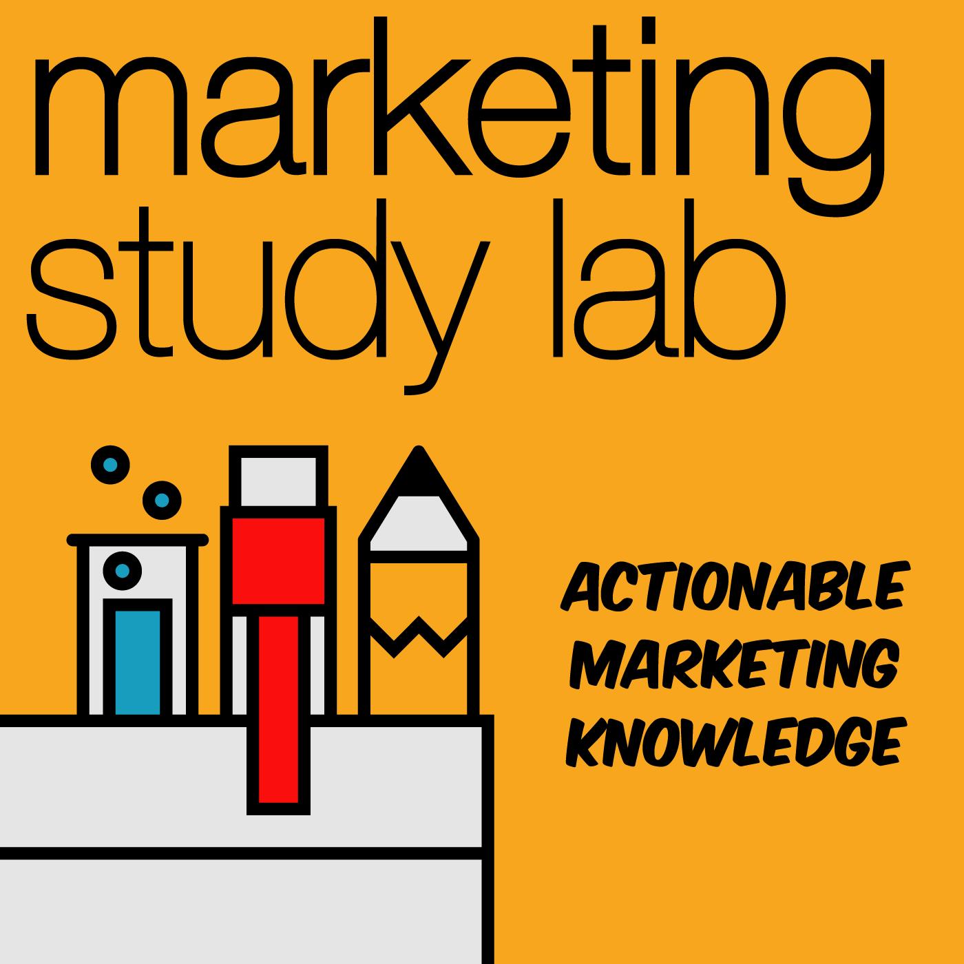 Marketing Study Lab - Actionable Marketing Knowledge show art