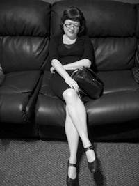 Literary blogger Maud Newton