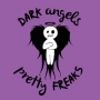 Artwork for Dark Angels & Pretty Freaks #23. We talk about Jamaica, burring kegs at OutsideLands SF, Zero nail trim, Favorite 5 not used (yet) pet names, Neil wanting more morning poles, Car trouble and much more!