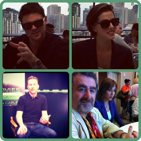 Episode 424 - Even More SDCC w/ Karl Urban/Olivia Thirlby (Dredd), Morgan Spurlock and Saul Rubinek/Allison Scagliotti (Warehouse 13)