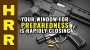 Artwork for Your window for PREPAREDNESS is rapidly CLOSING