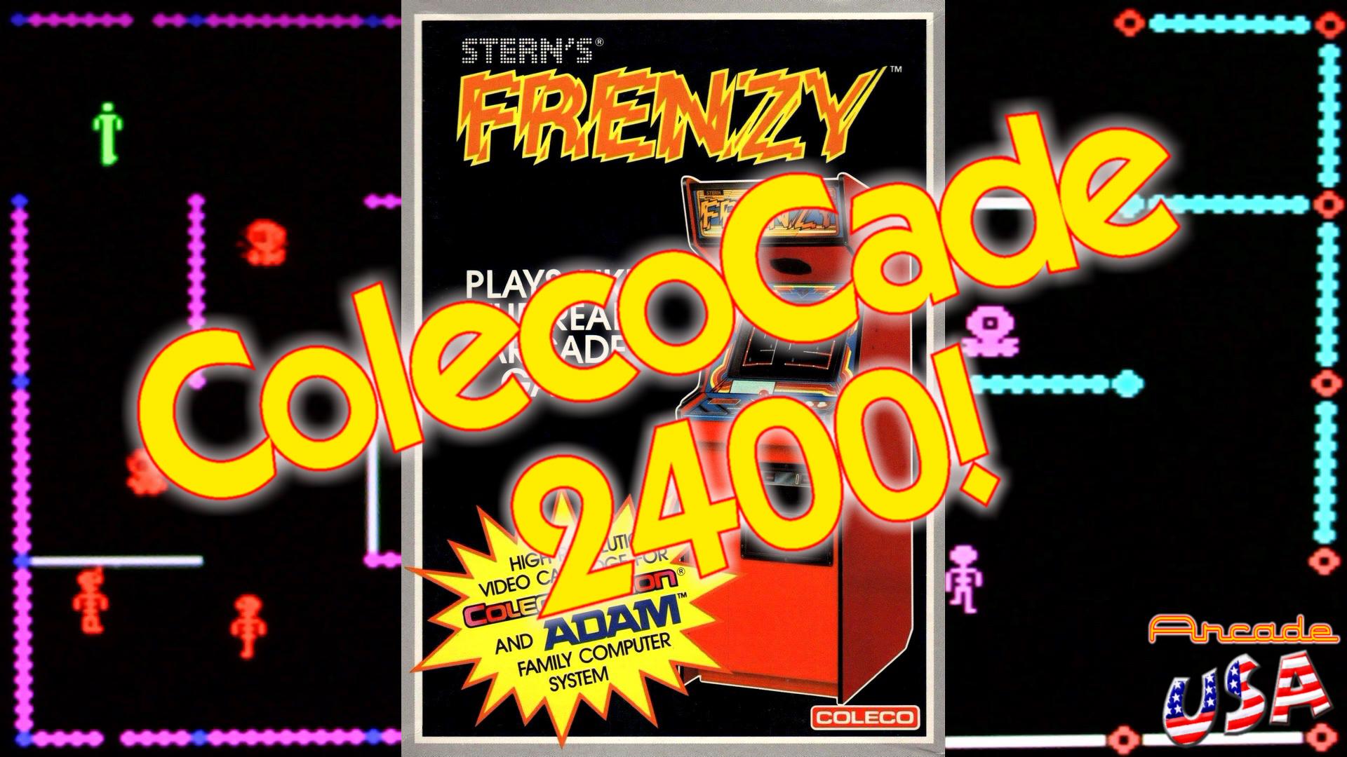 ColecoCade 2400 - Frenzy! show art