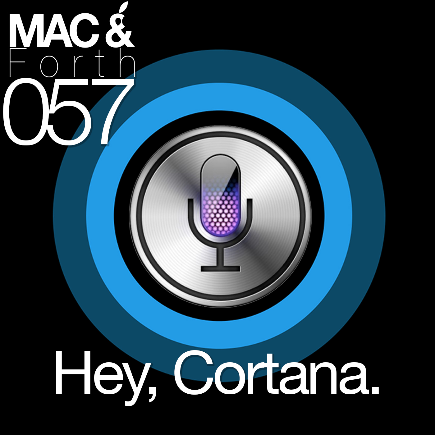 The Mac & Forth Show 057 - Hey, Cortana