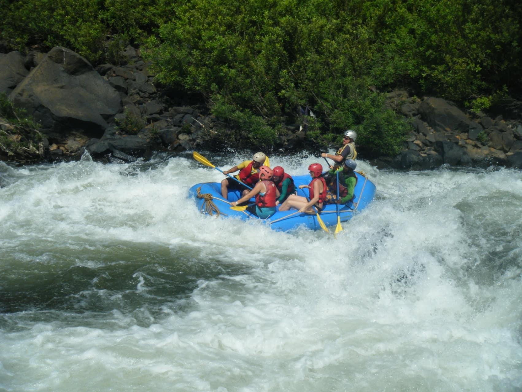 John Pollard in action on Mhadei river