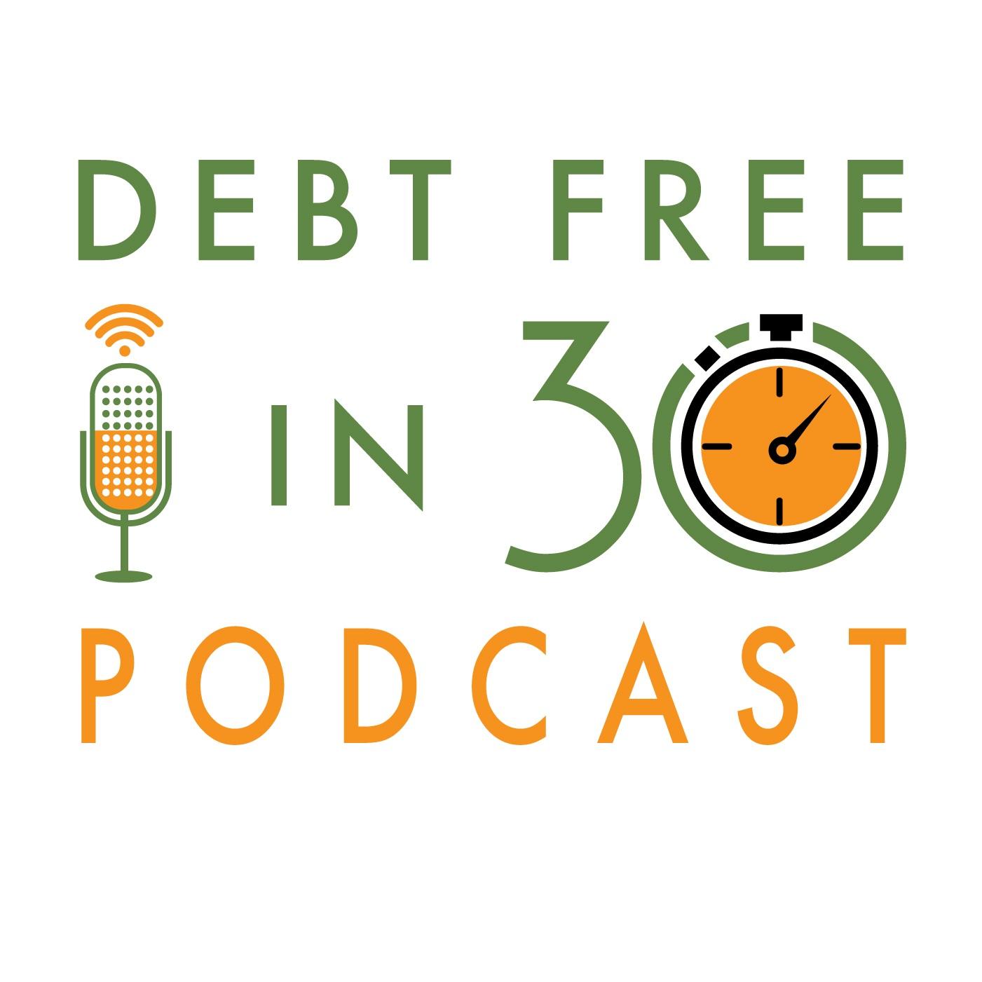 Debt Free in 30 show art