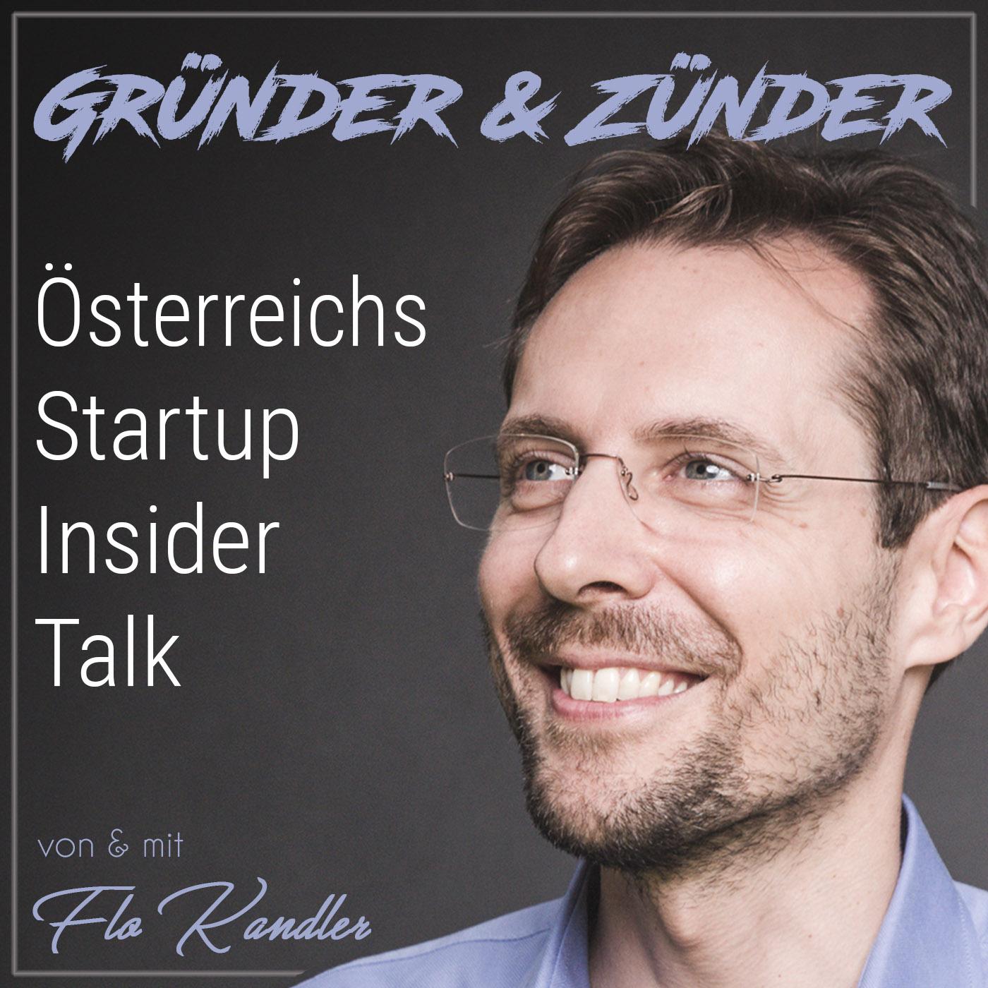 Gründer und Zünder: Österreichs Startup Insider Talk show art