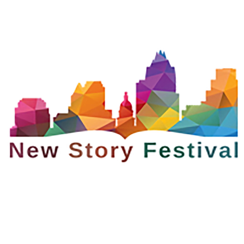 New Story Festival Podcast show art