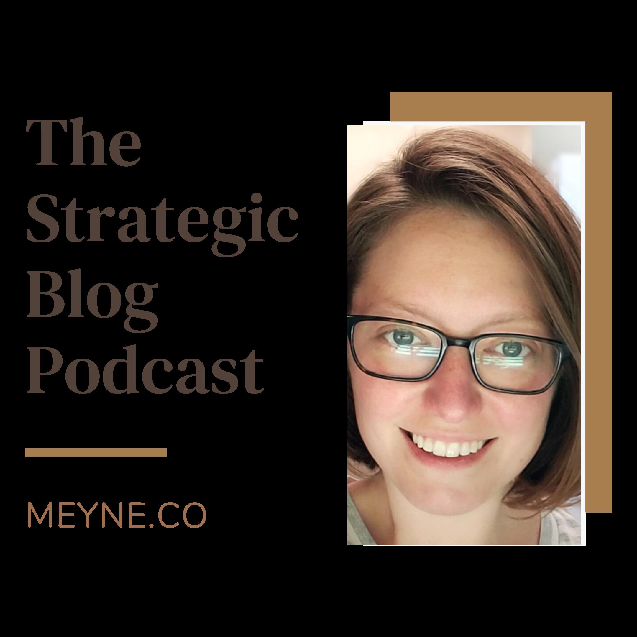 The Strategic Blog Podcast show art