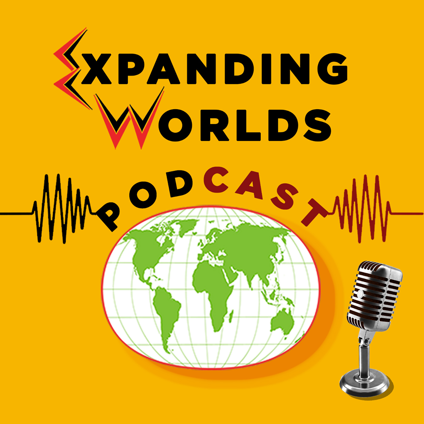 The Expanding Worlds Podcast show art