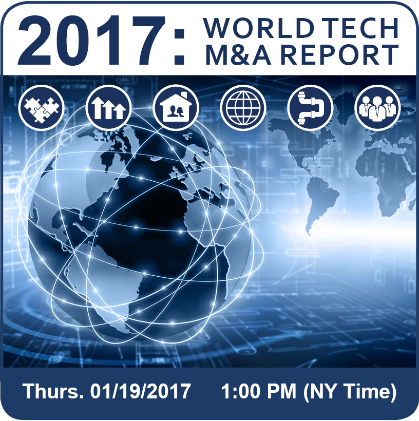 Forecast 2017: Tech M&A Predictions