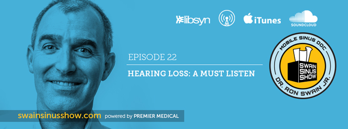 Dr. Ron Swain, Jr talks hearing loss