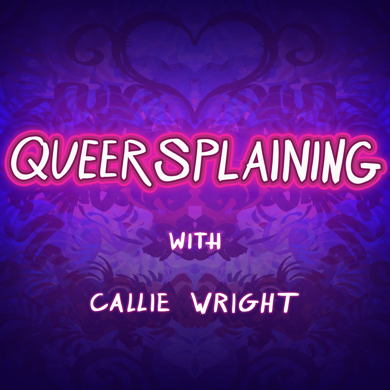 Queersplaining show art