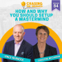 Artwork for EP84 - Christine McCarron on how and why you should set up a mastermind