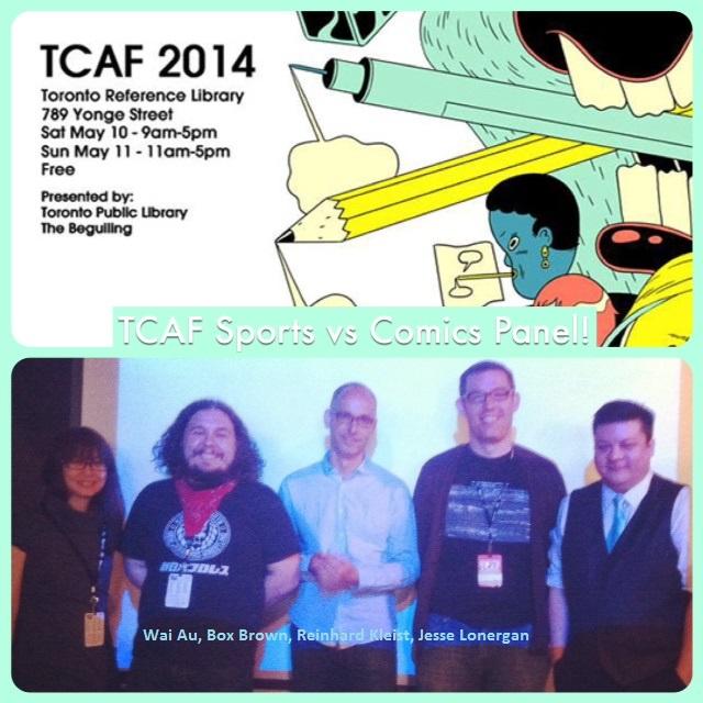 Episode 540 - TCAF: Sports vs Comics Panel w/ Wai Au/Box Brown/Reinhard Kleist/Jesse Lonergan