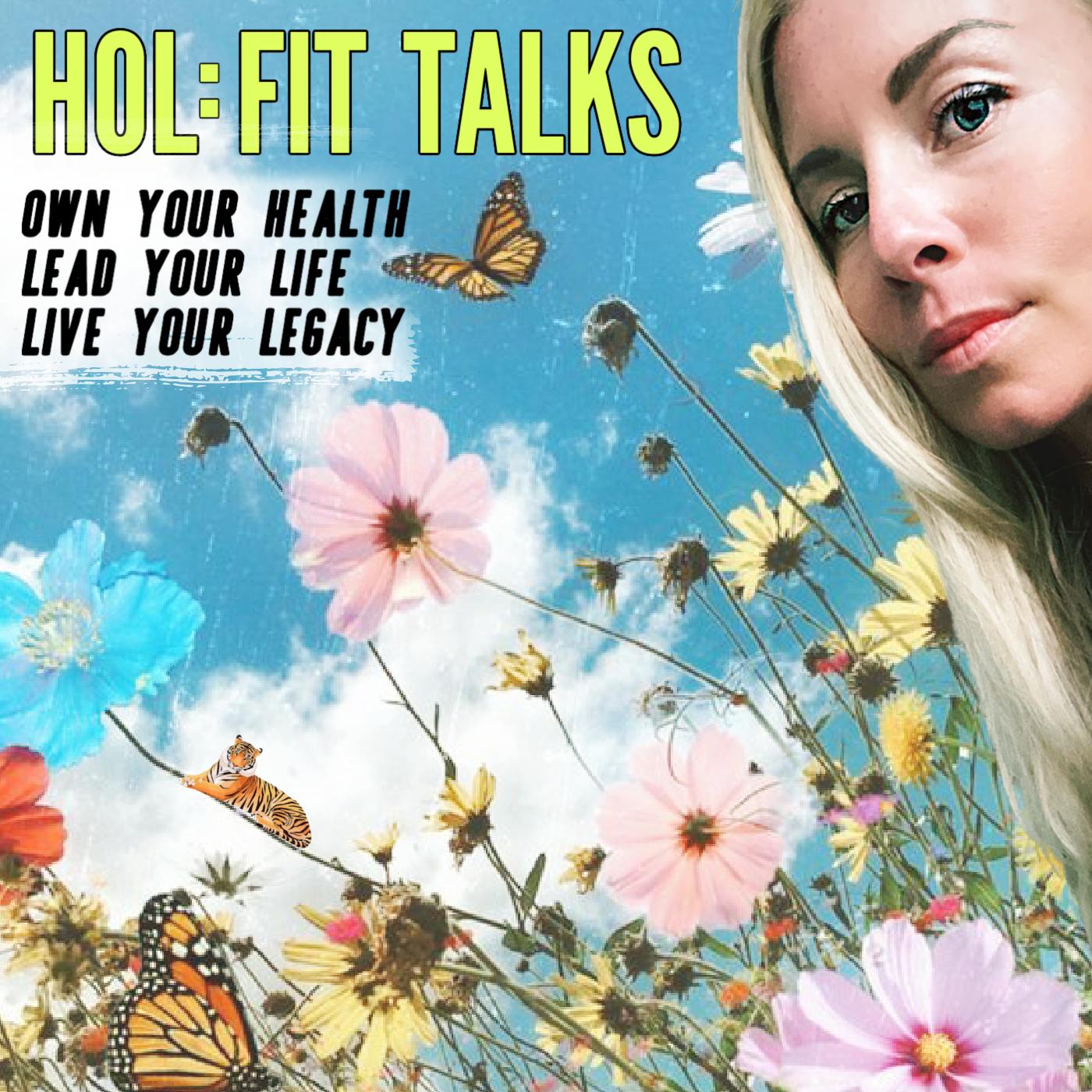 HOL:FIT Talks show art