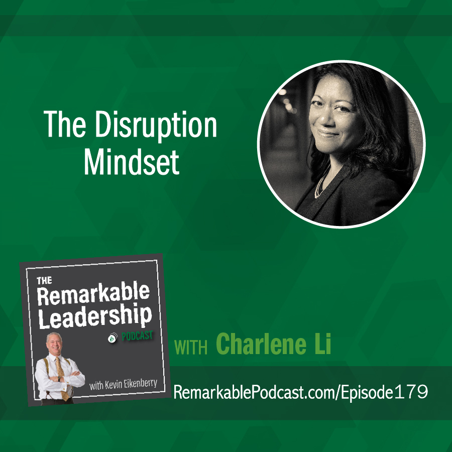 The Disruption Mindset with Charlene Li show art