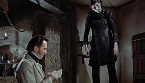 The Curse of Frankenstein (1957) - It's Not Alive
