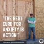 Artwork for The Best Cure For Anxiety Is ACTION!